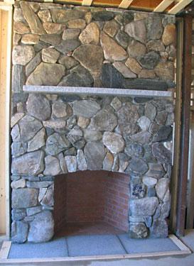 Fieldstone Fireplace meyer masonry - mason contractors in new hampshire, massachusetts