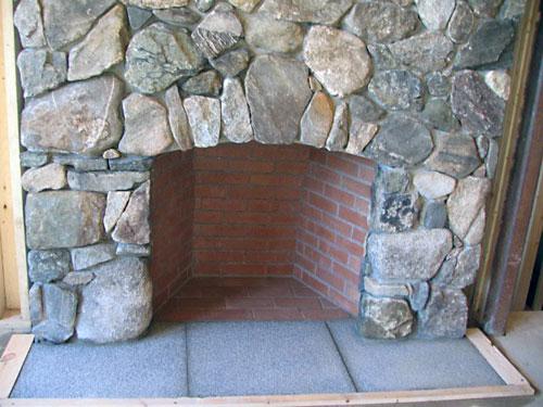 Field Stone Fireplace meyer masonry - mason contractors in new hampshire, massachusetts