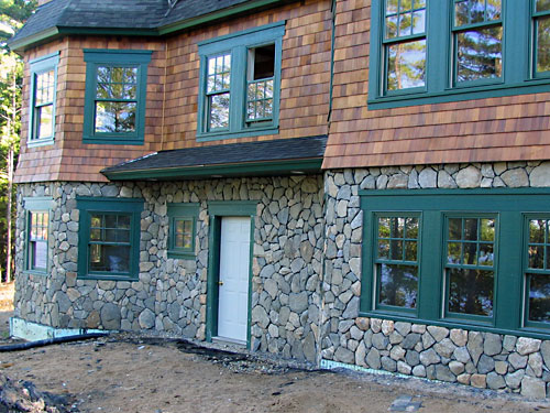 Meyer masonry mason contractors in new hampshire Houses with stone facade
